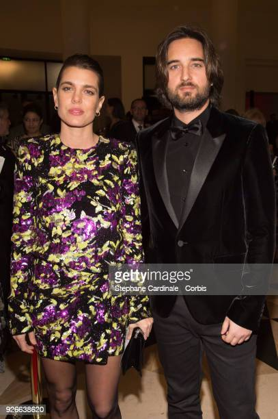 Charlotte Casiraghi and Dimitri Rassam attend the Cesar Film Awards Ceremony at Salle Pleyel on March 2 2018 in Paris France