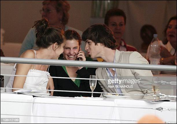 Charlotte Casiraghi and her Boy Friend Felix Winckler in Monaco on June 24 2006