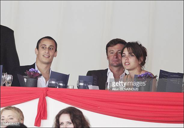 Charlotte Casiraghi and her boyfriend Alex Dellal in Monaco on June 29 2007
