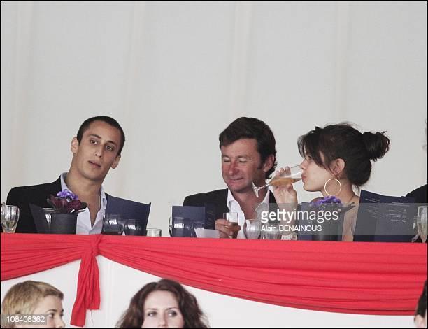 Charlotte Casiraghi and her boyfriend Alex in Monaco on June 29 2007