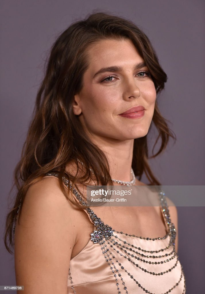 Charlotte Casiraghi arrives at the 2017 LACMA Art + Film Gala at LACMA on November 4, 2017 in Los Angeles, California.