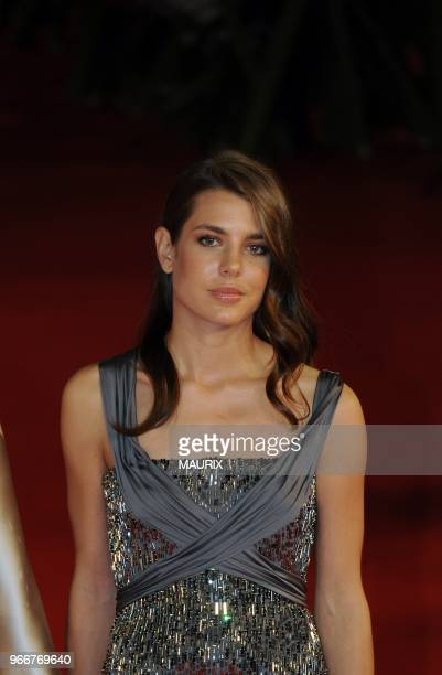 Charlotte Casiraghi arrives at the 'La Dolce Vita' world restoration premiere at the 5th Rome Film Festival in Rome Italy on October 30 2010 PHOTO BY...