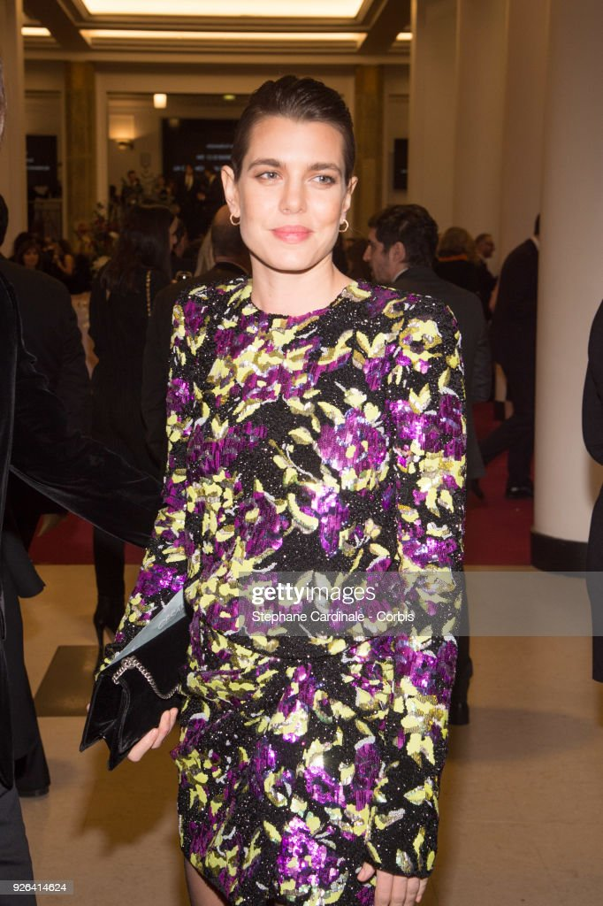 Charlotte Casiraghi at Salle Pleyel on March 2, 2018 in Paris, France.