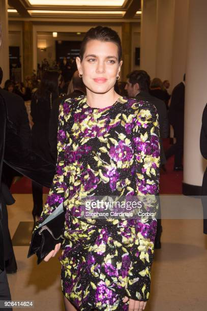 Charlotte Casiraghi at Salle Pleyel on March 2 2018 in Paris France