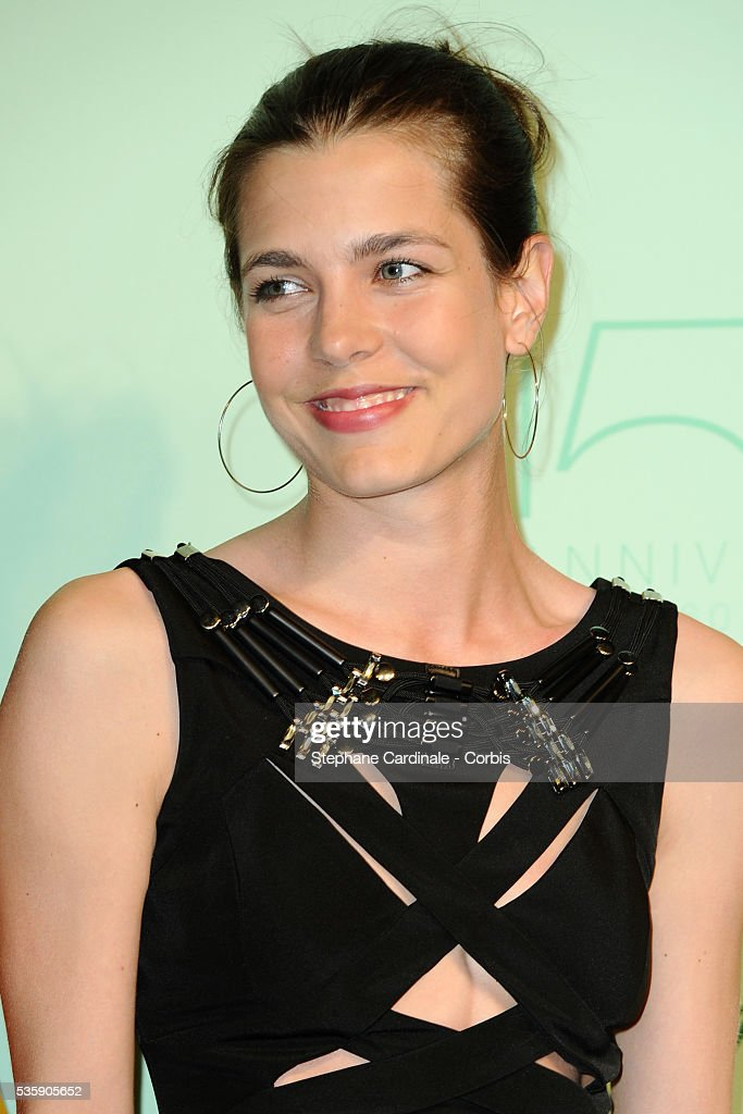 Charlotte Casiraghi at the 'Chopard 150th Anniversary Party' during the 63rd Cannes International Film Festival.