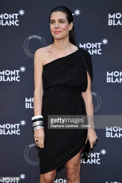 Charlotte Casiraghi attends as Montblanc launch new collection and dinner hosted by Charlotte Casiraghi during the 71st annual Cannes Film Festival...
