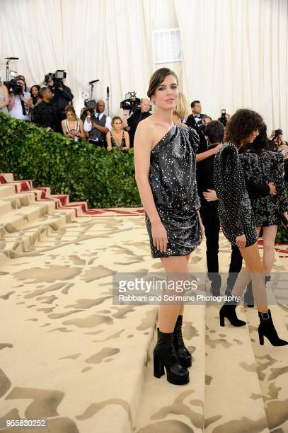 Charlotte Casiraghi attends Heavenly Bodies Fashion The Catholic Imagination Costume Institute Gala a the Metropolitan Museum of Art in New York City