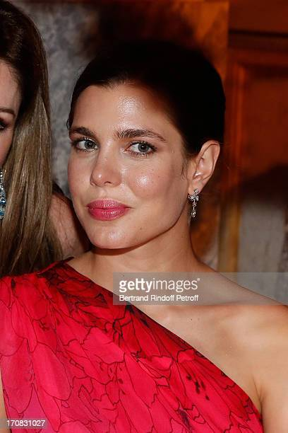 Charlotte Casiraghi attends 'Liaisons Au Louvre III' Charity Gala Dinner Hosted by American International Friends of Le Louvre at Cour Carree du...