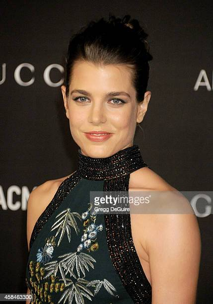 Charlotte Casiraghi attends the 2014 LACMA Art Film Gala Honoring Barbara Kruger And Quentin Tarantino Presented By Gucci at LACMA on November 1 2014...