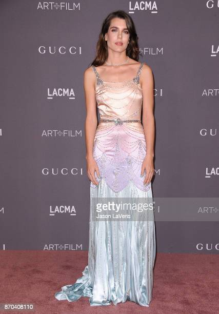 Charlotte Casiraghi attends the 2017 LACMA Art Film gala at LACMA on November 4 2017 in Los Angeles California
