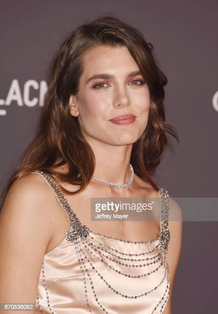 Charlotte Casiraghi attends the 2017 LACMA Art + Film Gala Honoring Mark Bradford and George Lucas presented by Gucci at LACMA on November 4, 2017 in...