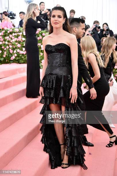 Charlotte Casiraghi attends The 2019 Met Gala Celebrating Camp: Notes on Fashion at Metropolitan Museum of Art on May 06, 2019 in New York City.