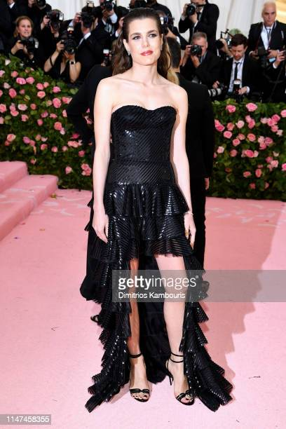 Charlotte Casiraghi attends The 2019 Met Gala Celebrating Camp Notes on Fashion at Metropolitan Museum of Art on May 06 2019 in New York City