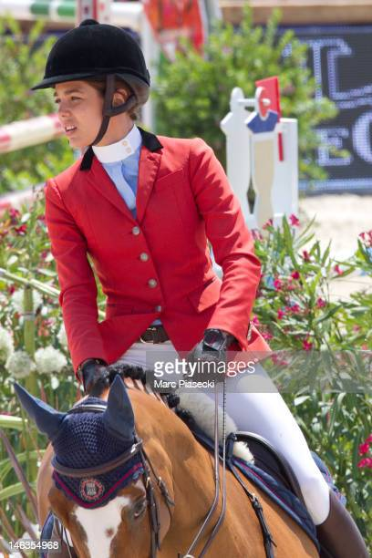 Charlotte Casiraghi attends the '31st International Cannes Jumping' Global Champion Tour 2012 on June 14 2012 in Cannes France