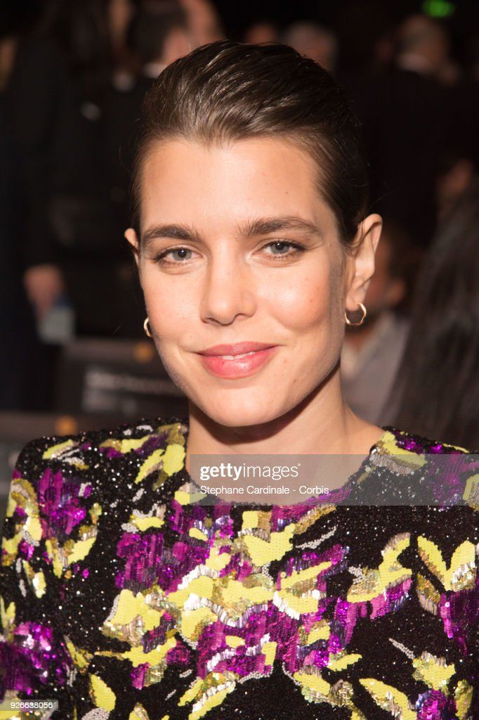 Charlotte Casiraghi attends the Cesar Film Awards Ceremony at Salle Pleyel on March 2, 2018 in Paris, France.