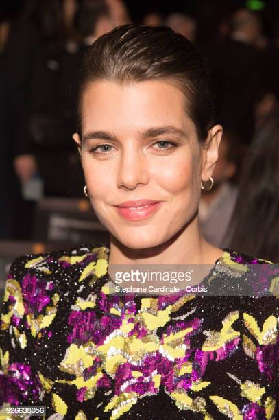 Charlotte Casiraghi attends the Cesar Film Awards Ceremony at Salle Pleyel on March 2 2018 in Paris France