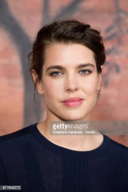 Charlotte Casiraghi attends the Chanel Cruise 2017/2018 Collection Photocall at Grand Palais on May 3 2017 in Paris France