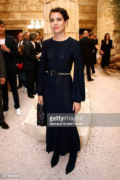 Charlotte Casiraghi attends the Chanel Cruise 2017/2018 Collection Show at Grand Palais on May 3 2017 in Paris France