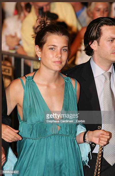 Charlotte Casiraghi attends the coronation party celebrating the accession of Prince Albert II to the Monaco throne