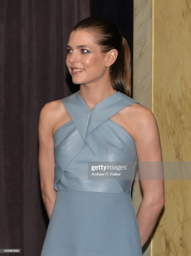 Charlotte Casiraghi attends the Gucci beauty launch event hosted by Frida Giannini on June 4, 2014 in New York City.
