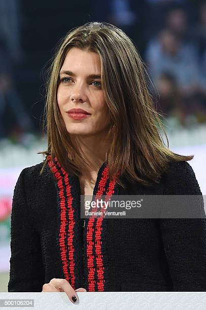 Charlotte Casiraghi attends the Gucci Gold Cup 2015 during the Paris Longines Masters on December 5, 2015 in Villepinte, France.