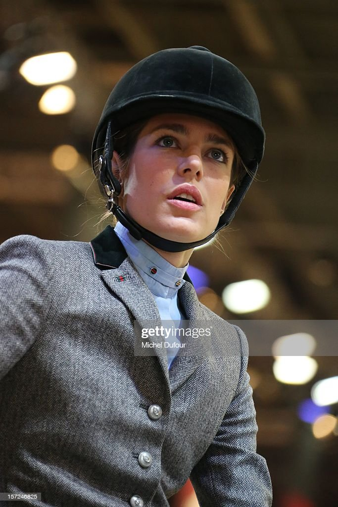Charlotte Casiraghi attends the Gucci Paris Masters 2012 at Paris Nord Villepinte on November 30, 2012 in Paris, France.