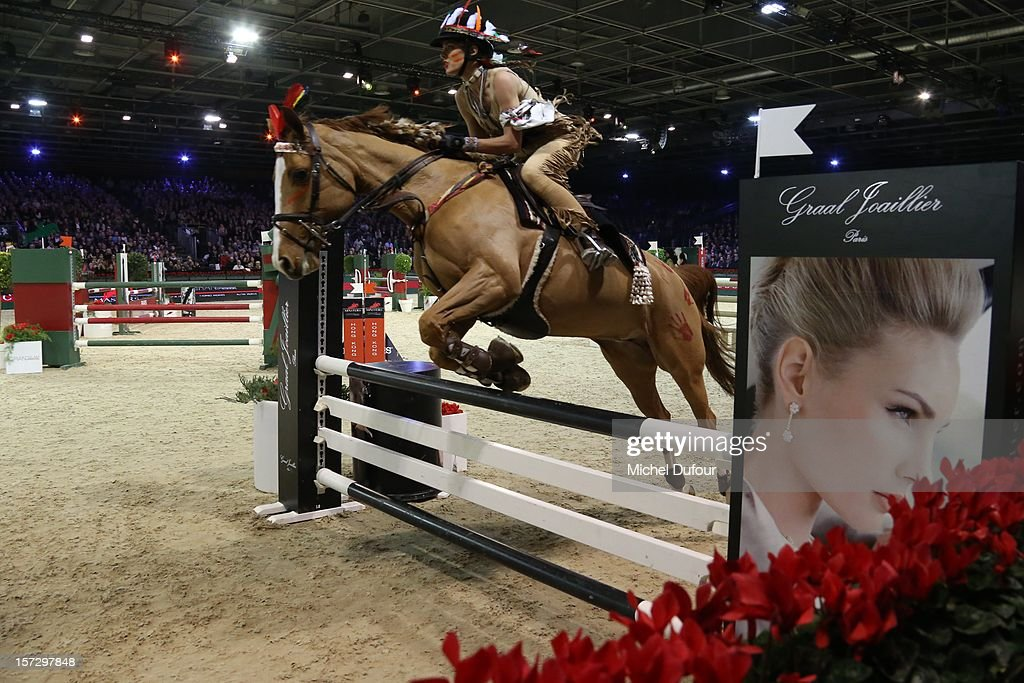 Charlotte Casiraghi attends the Gucci Paris Masters 2012 at Paris Nord Villepinte on December 1, 2012 in Paris, France.