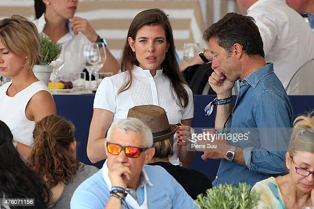 Charlotte Casiraghi attends the Longines Athina Onassis Horse Show on June 6 2015 in SaintTropez France