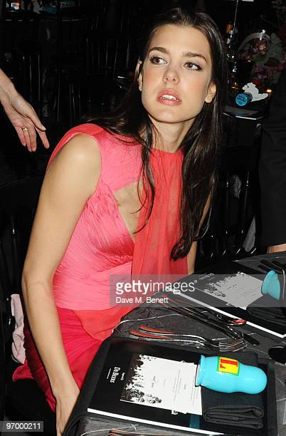 Charlotte Casiraghi attends the Love Ball London at the Roundhouse on February 23 2010 in London England