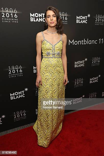 Charlotte Casiraghi attends the Montblanc 110 Year Anniversary Gala Dinner on April 5 2016 in New York City