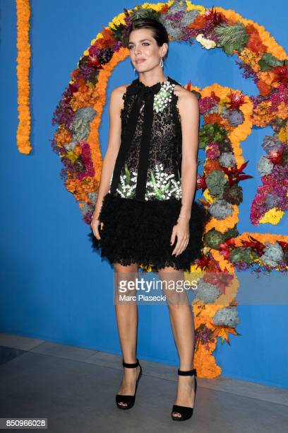 Charlotte Casiraghi attends the Opening Season gala at Opera Garnier on September 21, 2017 in Paris, France.