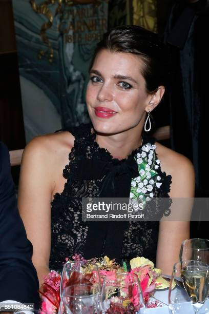 Charlotte Casiraghi attends the Opening Season Gala Ballet of Opera National de Paris Held at Opera Garnier on September 21 2017 in Paris France