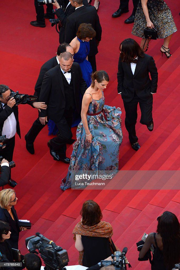 Charlotte Casiraghi attends the Premiere of 'Rocco And His Brothers' during the 68th annual Cannes Film Festival on May 17, 2015 in Cannes, France.