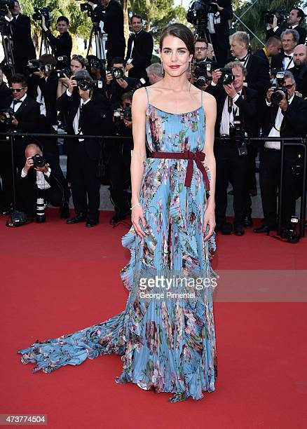 """Charlotte Casiraghi attends the """"Rocco And His Brothers"""" Premiere during the 68th annual Cannes Film Festival on May 17, 2015 in Cannes, France."""