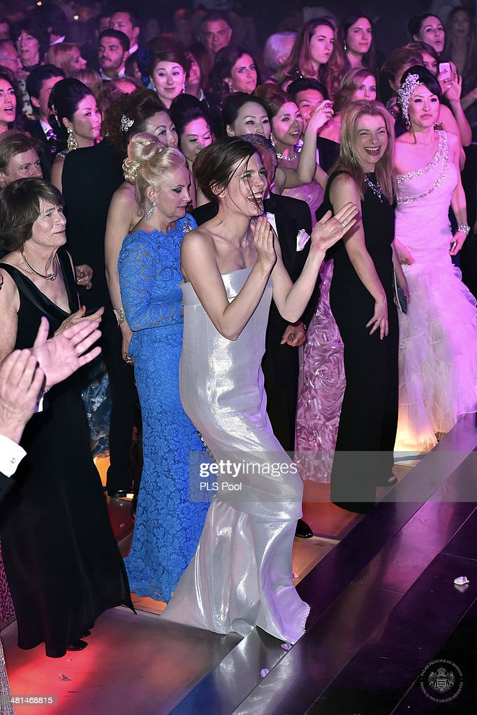 Charlotte Casiraghi attends the Rose Ball 2014 in aid of the Princess Grace Foundation at Sporting Monte-Carlo on March 29, 2014 in Monte-Carlo, Monaco.