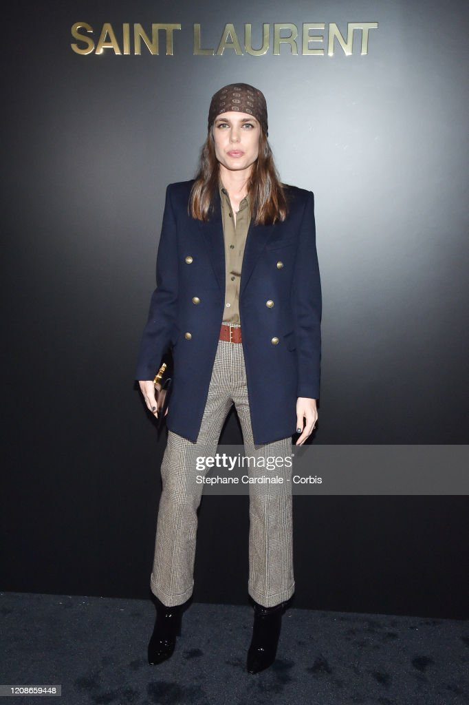Saint Laurent : Photocall - Paris Fashion Week Womenswear Fall/Winter 2020/2021 : News Photo