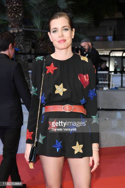 Charlotte Casiraghi attends the screening of Lux Aeterna during the 72nd annual Cannes Film Festival on May 18 2019 in Cannes France