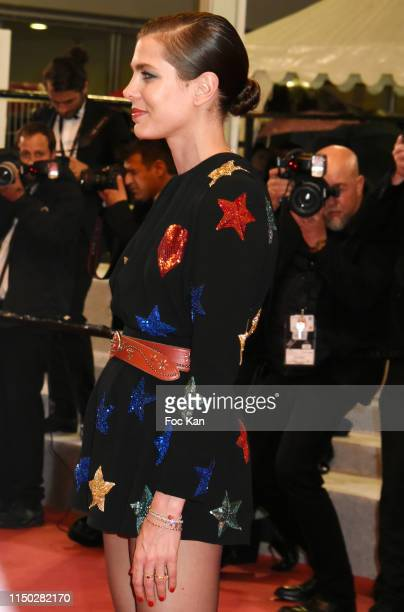 """Charlotte Casiraghi attends the screening of """"Lux Aeterna"""" during the 72nd annual Cannes Film Festival on May 18, 2019 in Cannes, France."""