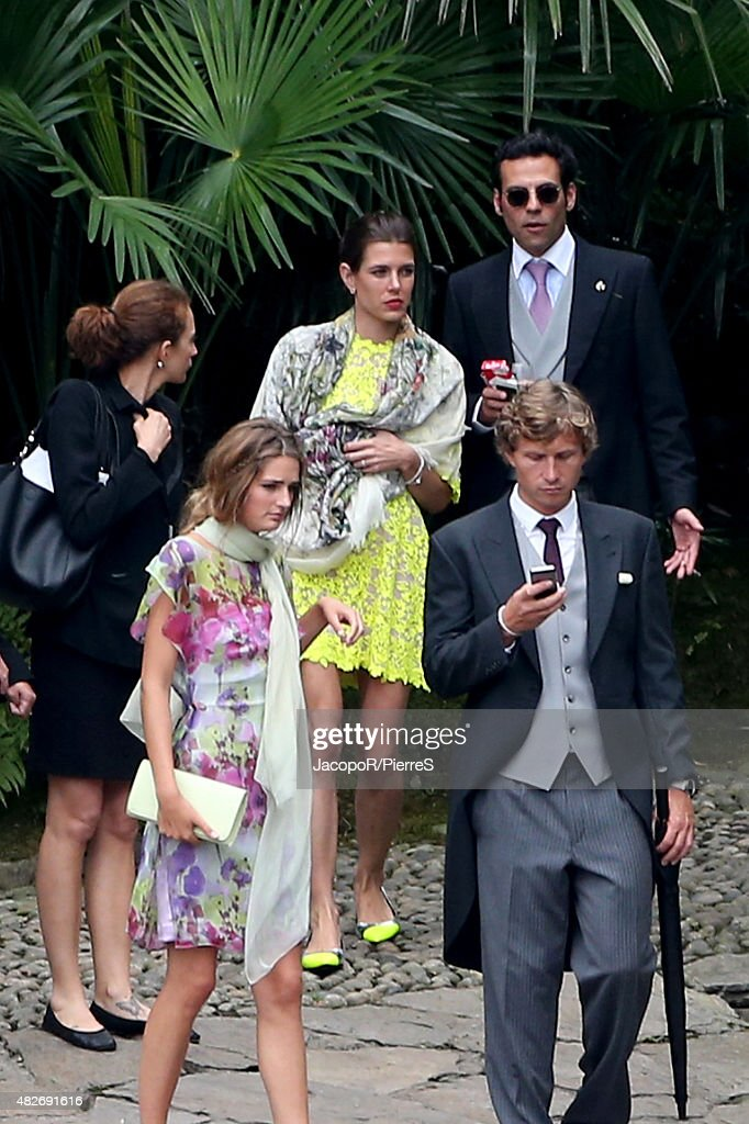 Arrivals At Pierre Casiraghi And Beatrice Borromeo Wedding Ceremony : News Photo