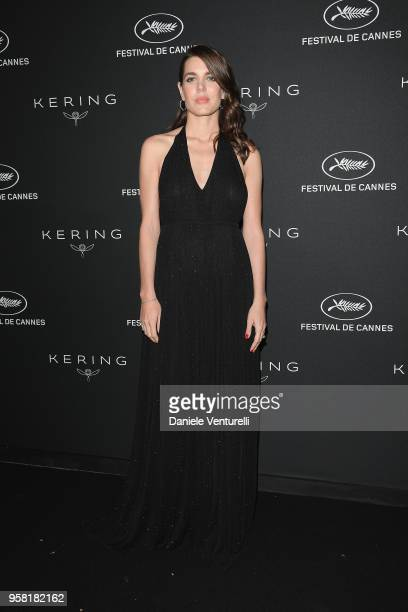 Charlotte Casiraghi attends the Women in Motion Awards Dinner presented by Kering and the 71th Cannes Film Festival at Place de la Castre on May 13...