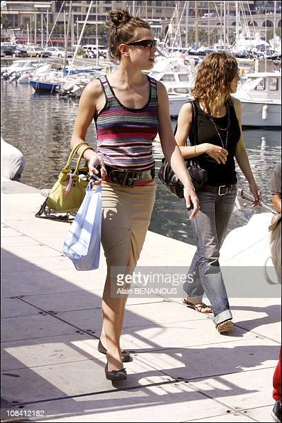Charlotte Casiraghi in Monaco on June 23 2006