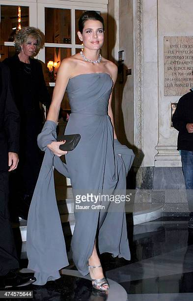 Charlotte Casiraghi is seen on October 22 2012 in Madrid Spain