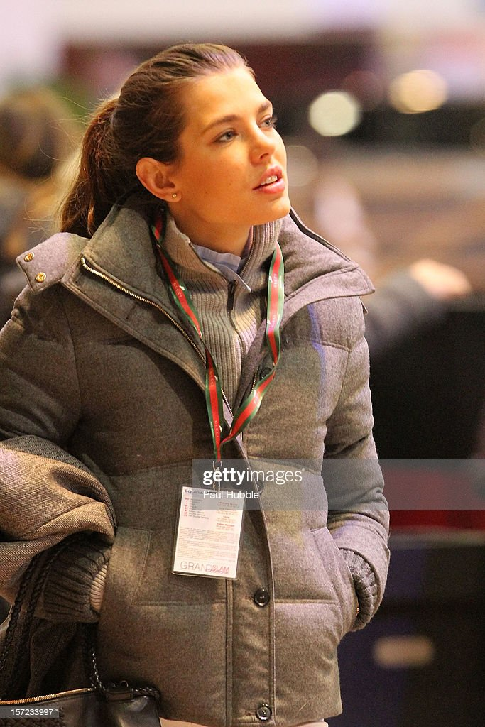 Charlotte Casiraghi is sighted at the Gucci Paris Masters 2012 at Paris Nord Villepinte on November 30, 2012 in Paris, France.