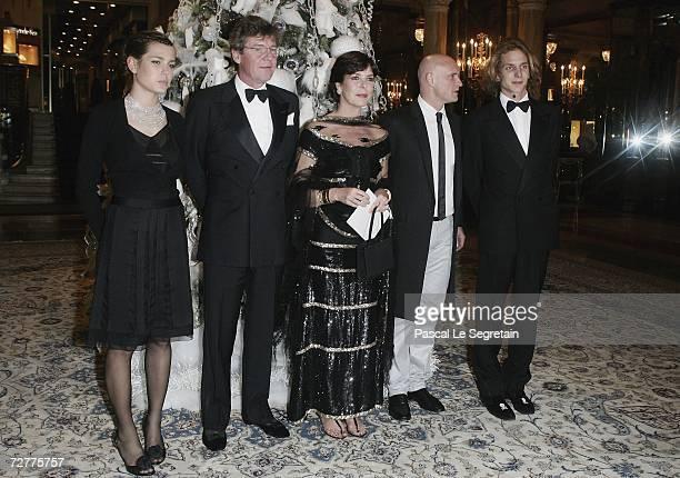 Charlotte Casiraghi Prince Ernst August of Hanover Princess Caroline of Monaco former dancer JeanChristophe Maillot president of the Monaco Dance...