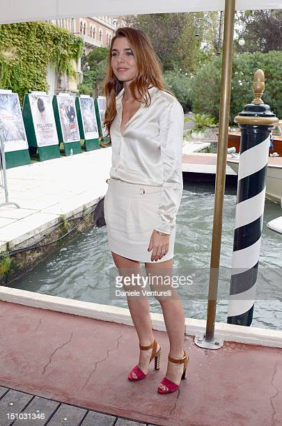 Charlotte Casiraghi seen at The 69th Venice Film Festival on August 31 2012 in Venice Italy