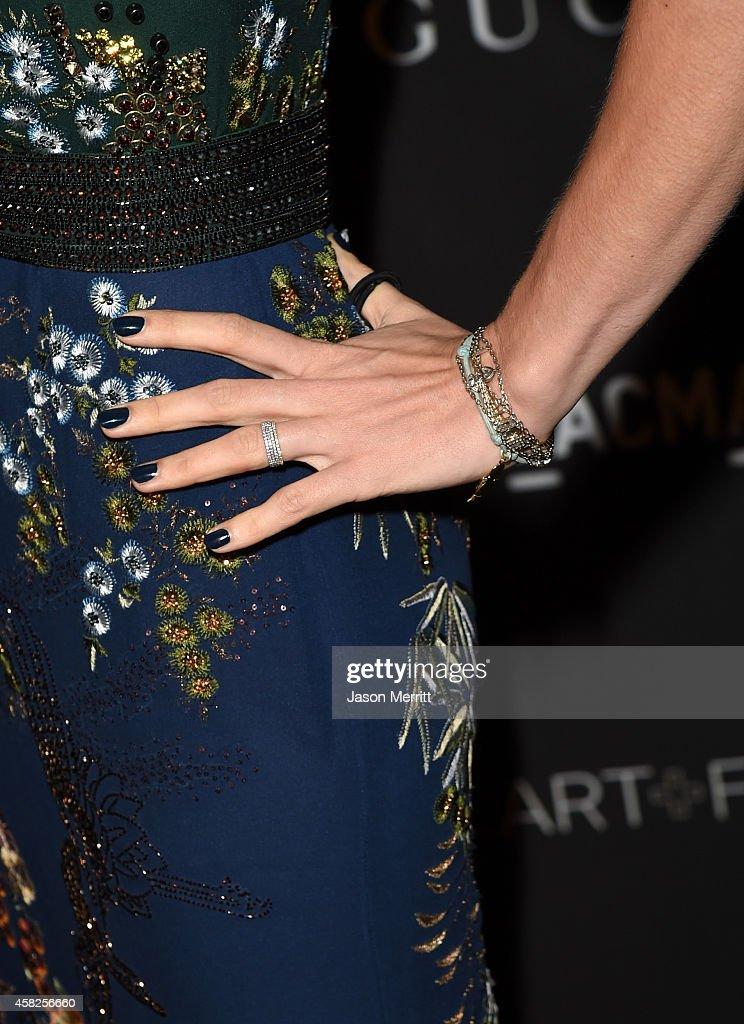 2014 LACMA Art + Film Gala Honoring Barbara Kruger And Quentin Tarantino Presented By Gucci - Red Carpet : Nyhetsfoto