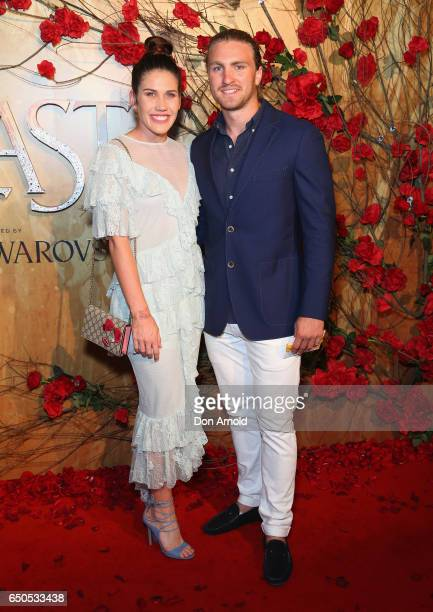 Charlotte Caslick arrives ahead of the Beauty And The Beast Australian Premiere at State Theatre on March 9 2017 in Sydney Australia