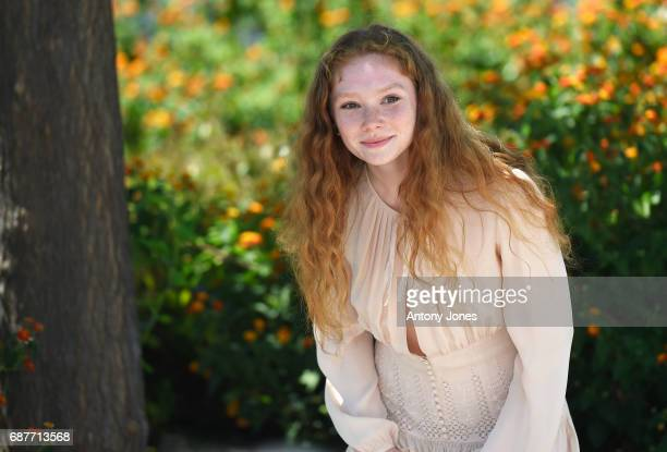 Charlotte Cetaire attends the Dopo La Guerra Apres La Guerre photocall during the 70th annual Cannes Film Festival at Palais des Festivals on May 24...