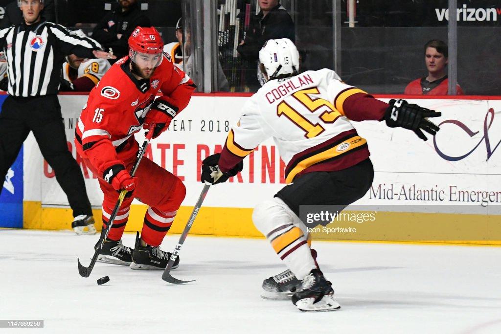 AHL: JUN 02 Calder Cup Final - Chicago Wolves at Charlotte Checkers : News Photo