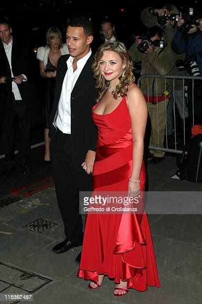 Charlotte Church and boyfriend Kyle Johnson during La Dolce Vita Ball in Association with UNICEF at Old Billingsgate Market in London in London...